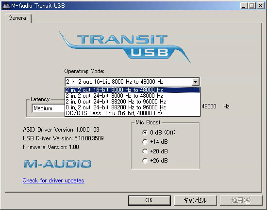 Transit USB